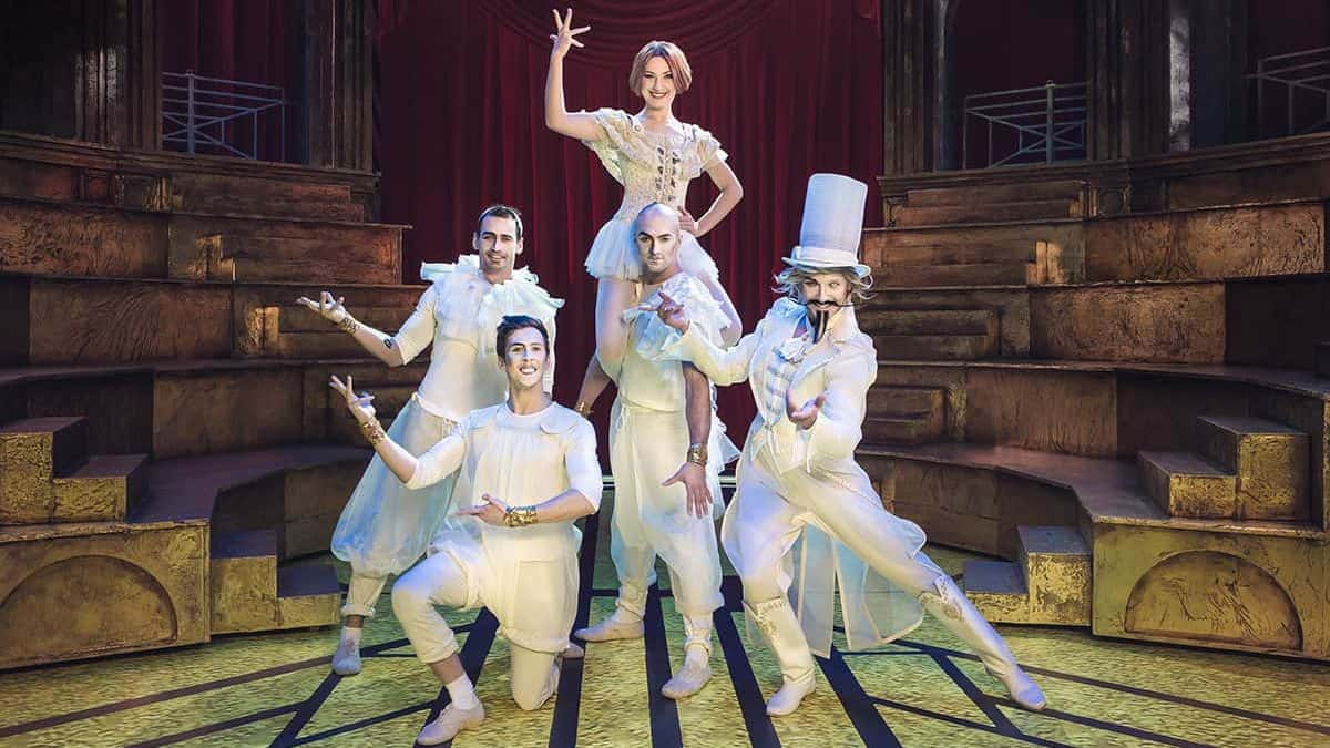 """Да, я шут, я циркач… Так что же?"" - рецензия на мюзикл ""Принцесса цирка"""