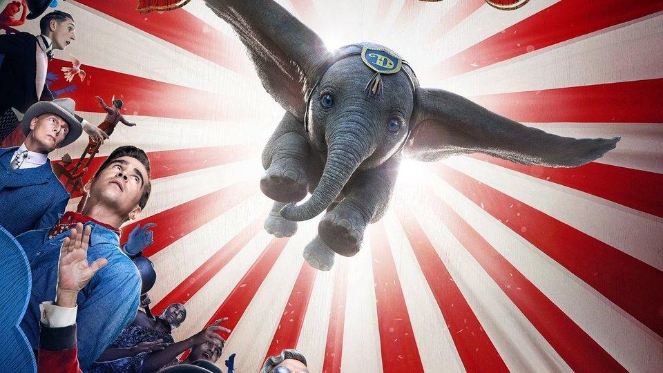 Вышел первый трейлер фильма Тима Бертона про летающего слоненка Дамбо